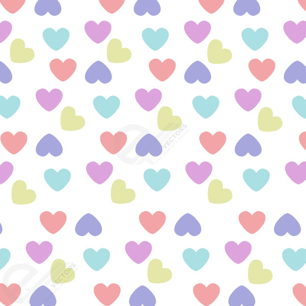 Free vector Heart valentine icon pattern