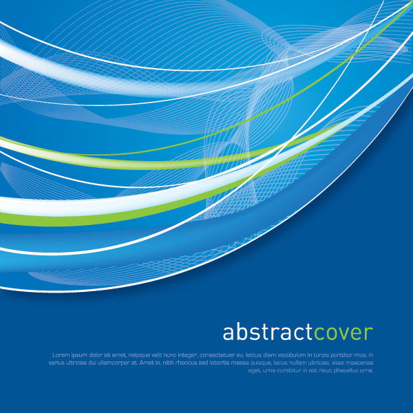 Abstract Cover Vector Illustration