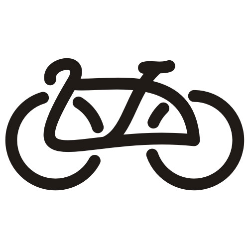 Bicycle Free vector illustration. illustration