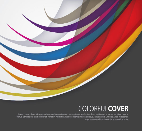Colorful Cover Vector Illustration