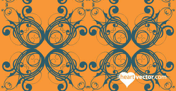 Flourish Pattern illustration