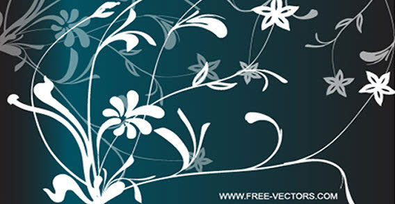 Flowers Free Vector illustration