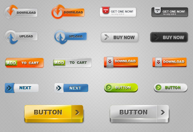 Free Download Button Vectors 2 illustration