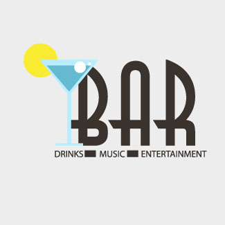 Free Vector of the Day Bar Logo illustration