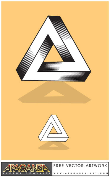 Impossible Triangle illustration