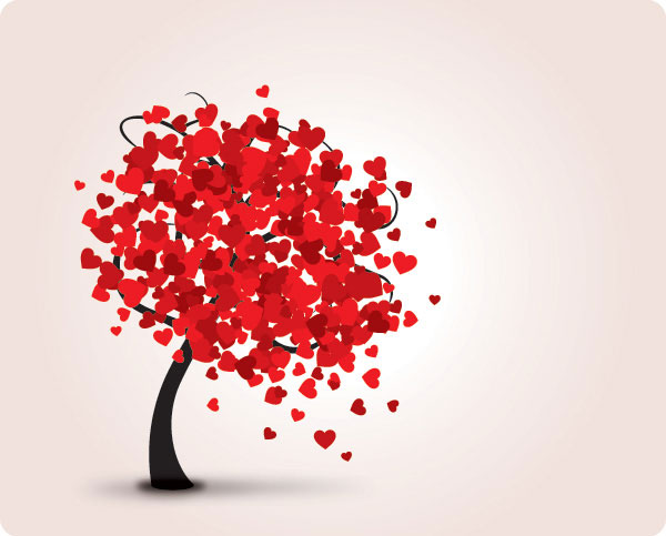 Lovely Tree Vector Illustration