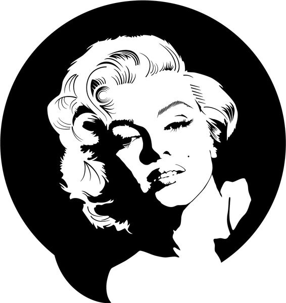 Marilyn Monroe Vector illustration