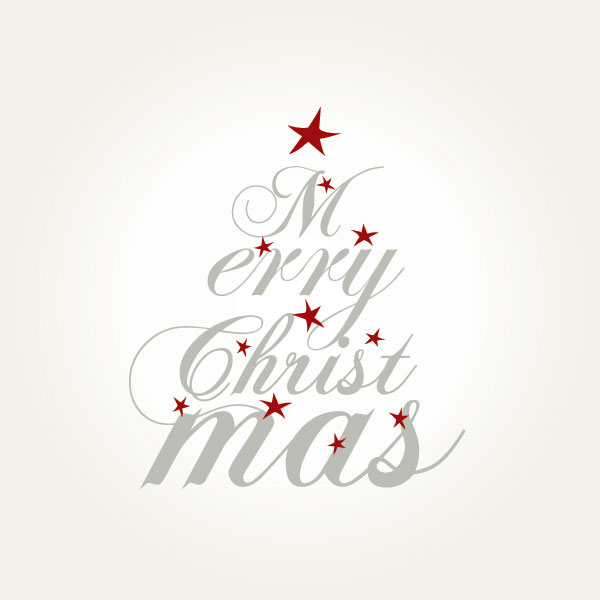 Merry Christmas to All Vector Illustration