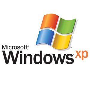 Microsoft Windows XP logo illustration