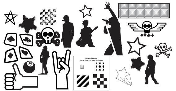 Punk Vector Graphics illustration