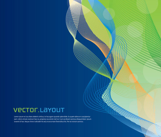 Vector Layout 3 Vector Illustration