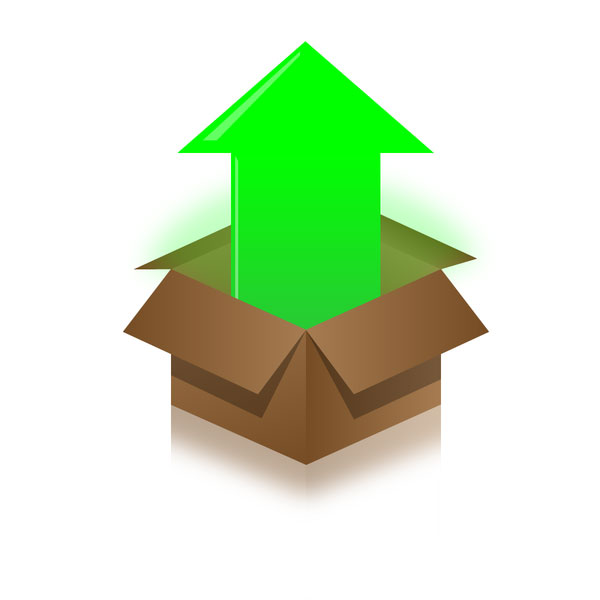 Web 2.0 Box illustration