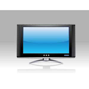 abstract beautiful latest wide screen computer LCD vector illustration